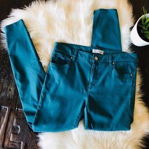 "Ann Taylor LOFT ""Legging"" Skinny Jeans Pants 8"